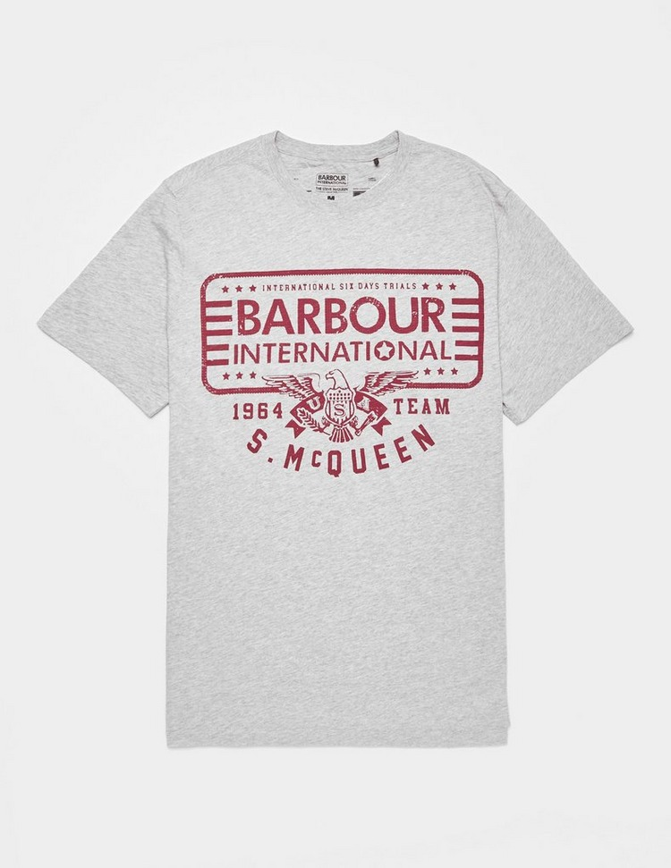 Barbour International Steve McQueen Eagle Short Sleeve T-Shirt