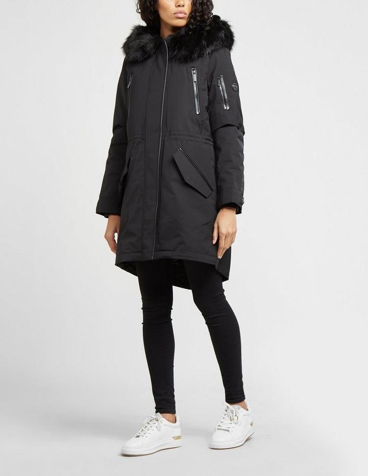 Michael Kors Fur Hooded Parka Jacket