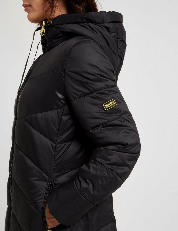 Barbour International Portimao Longline Quilted Jacket