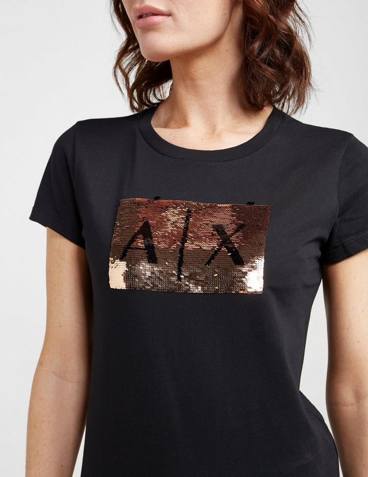 Armani Exchange Box Logo Short Sleeve T-Shirt
