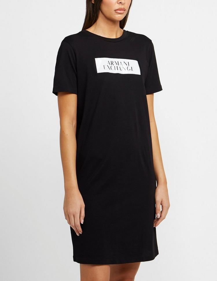Armani Exchange Gloss Box T-Shirt Dress