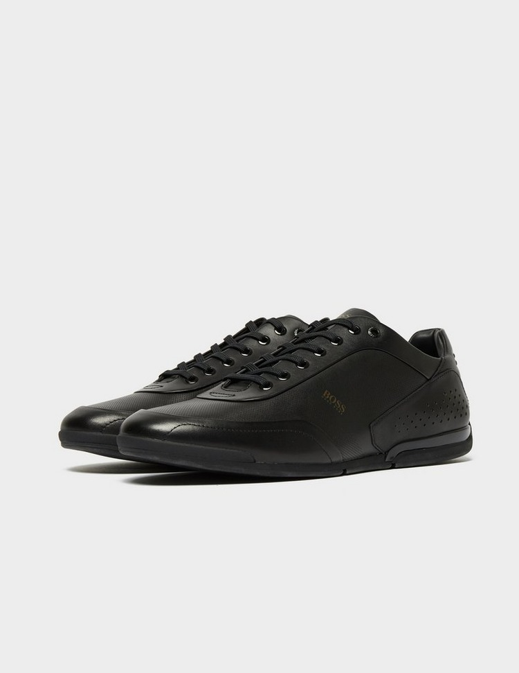 BOSS Saturn Leather Trainers