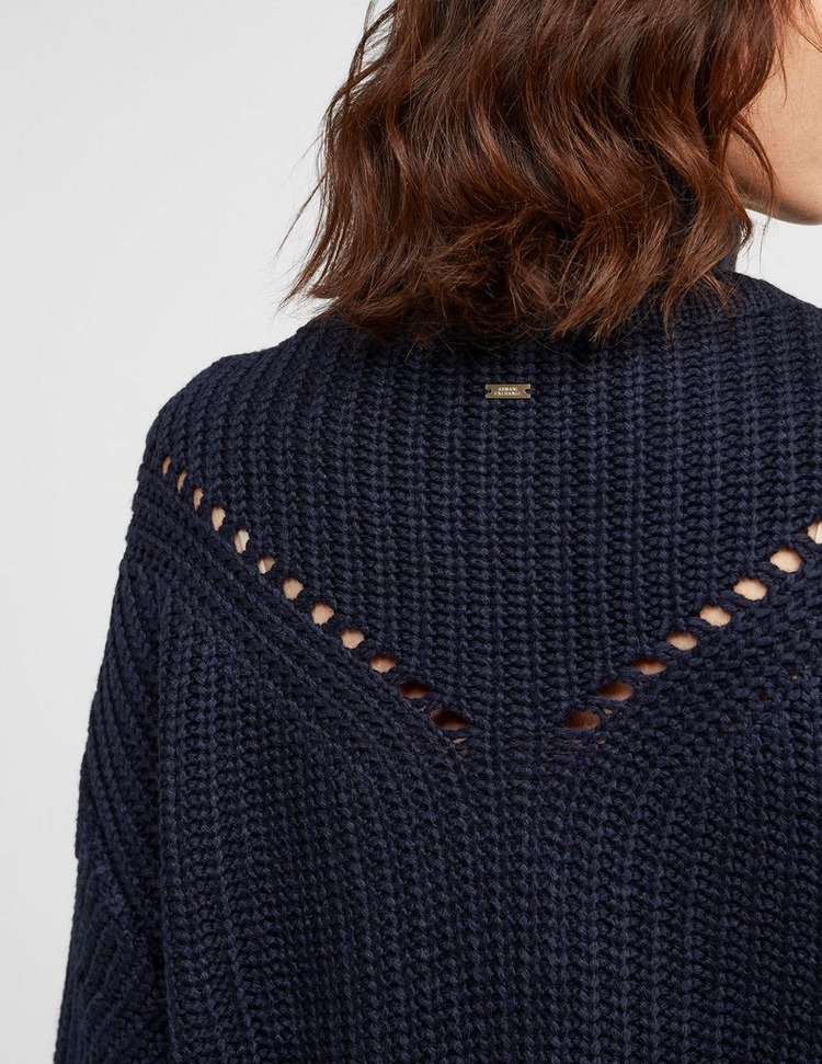 Armani Exchange Chunky Knitted Jumper