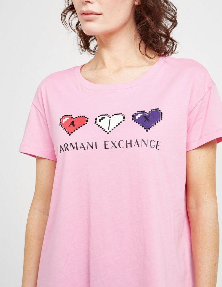 Armani Exchange Heart Logo T-Shirt