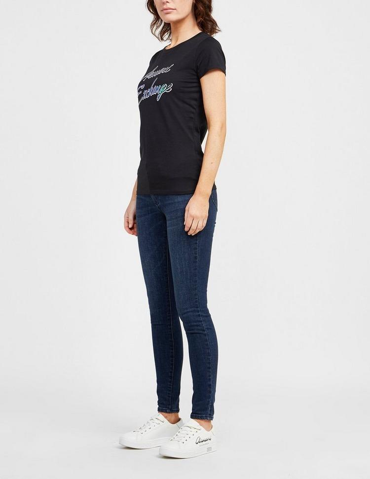 Armani Exchange Iridescent Logo T-Shirt