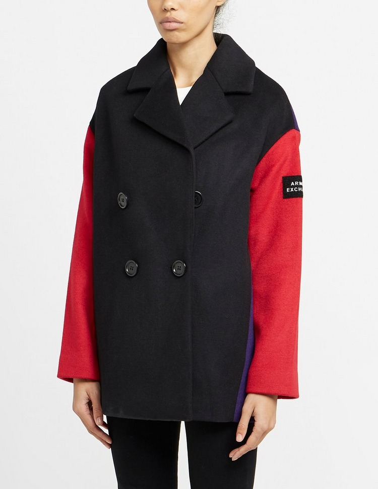 Armani Exchange Colour Block Coat