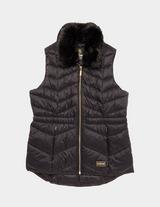Barbour International Fur Gilet