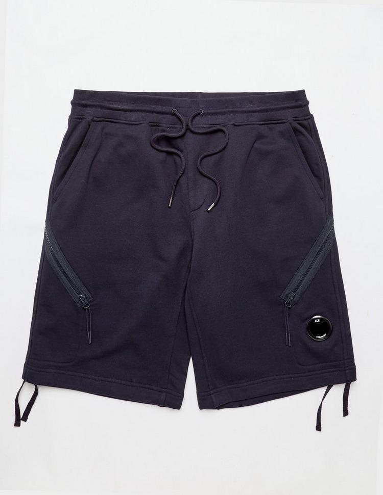 CP Company Lens Fleece Shorts
