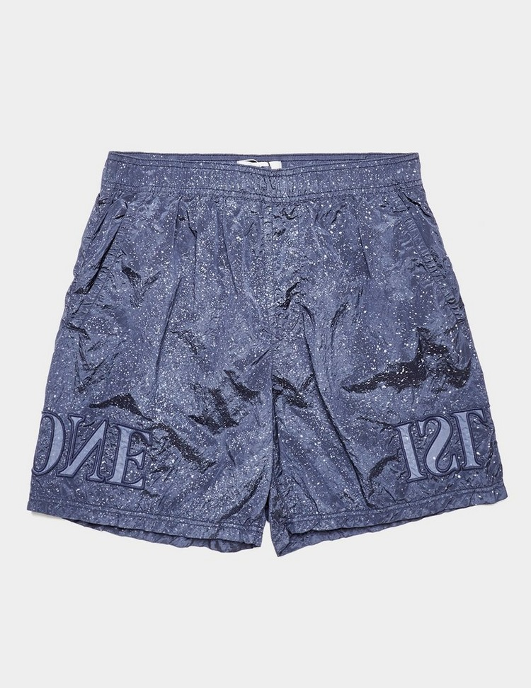 Stone Island Embroidered Logo Swim Shorts