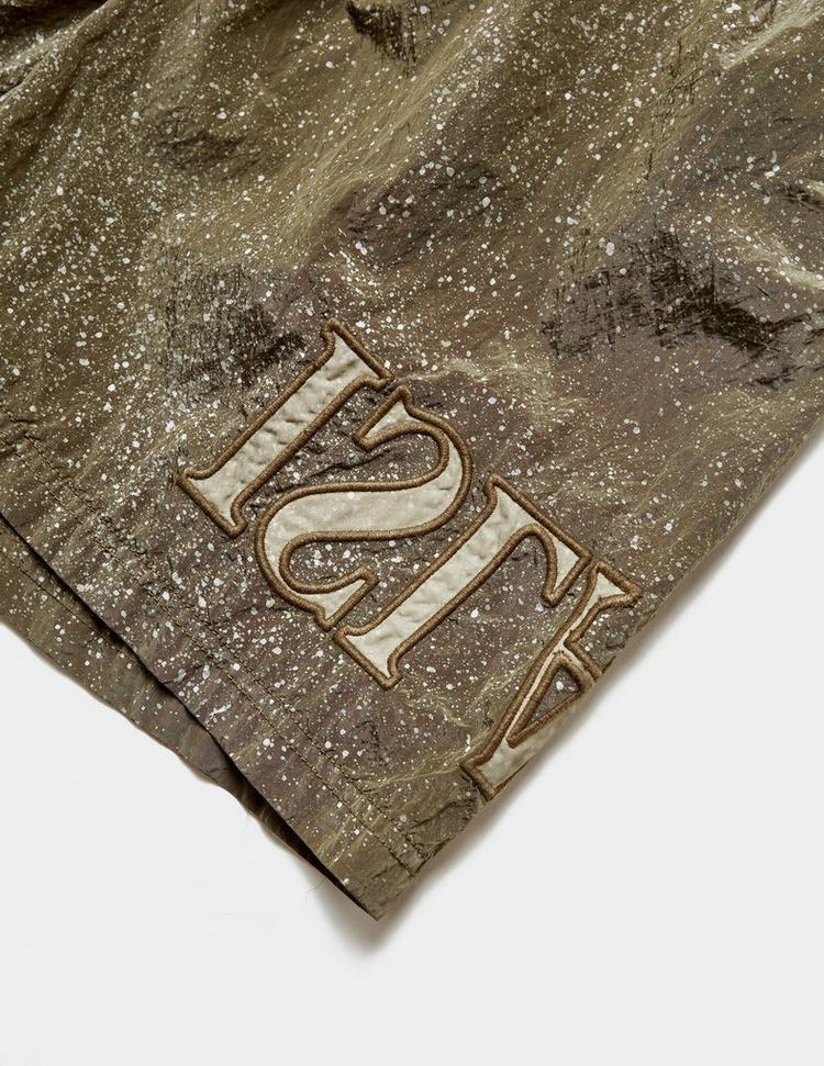 Stone Island Embroidered Logo Swim Shorts