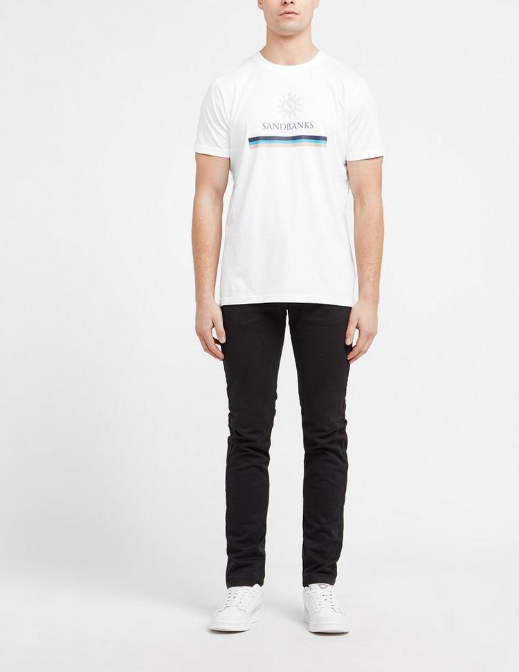 Sandbanks Sun Stripe T-Shirt