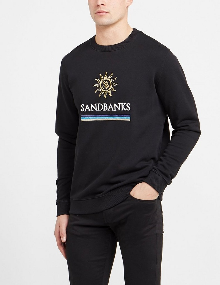 Sandbanks Sun Stripe Sweatshirt