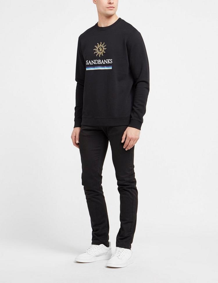 Sandbanks Sun Stripe Sweatshirt