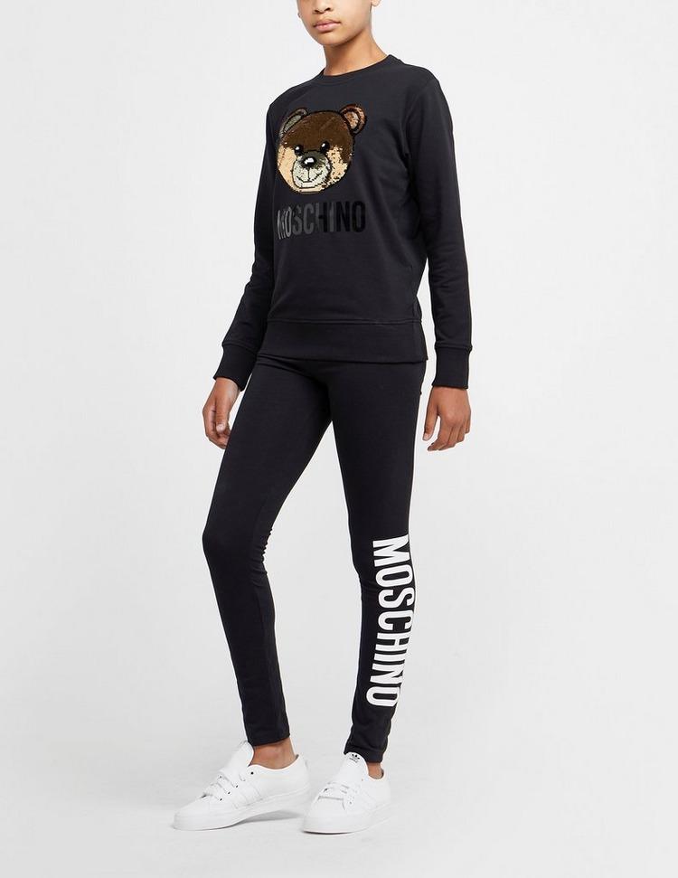 Moschino Sequin Teddy Sweatshirt