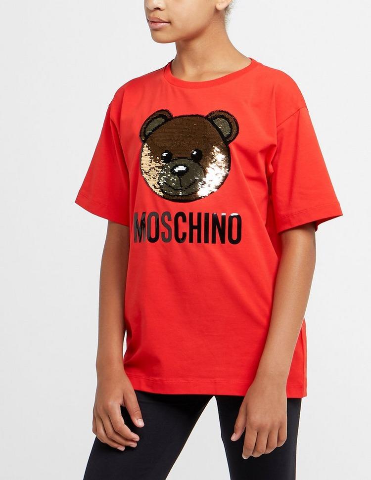 Moschino Sequin Teddy Short Sleeve T-Shirt
