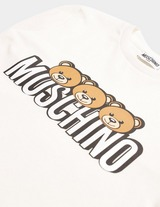 Moschino 3 Bear Short Sleeve T-Shirt