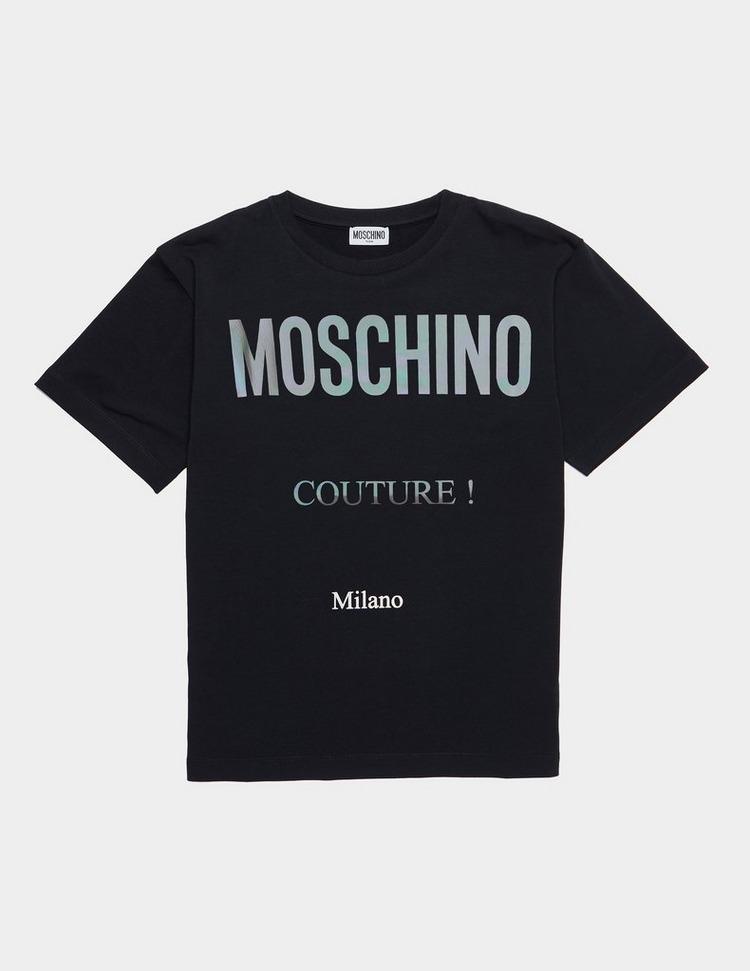 Moschino Iridescent Short Sleeve T-Shirt