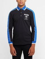 Moschino Block Colour Long Sleeve Polo Shirt