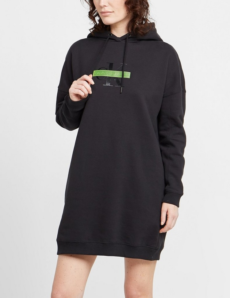 Calvin Klein Jeans Censored Hoodie Dress