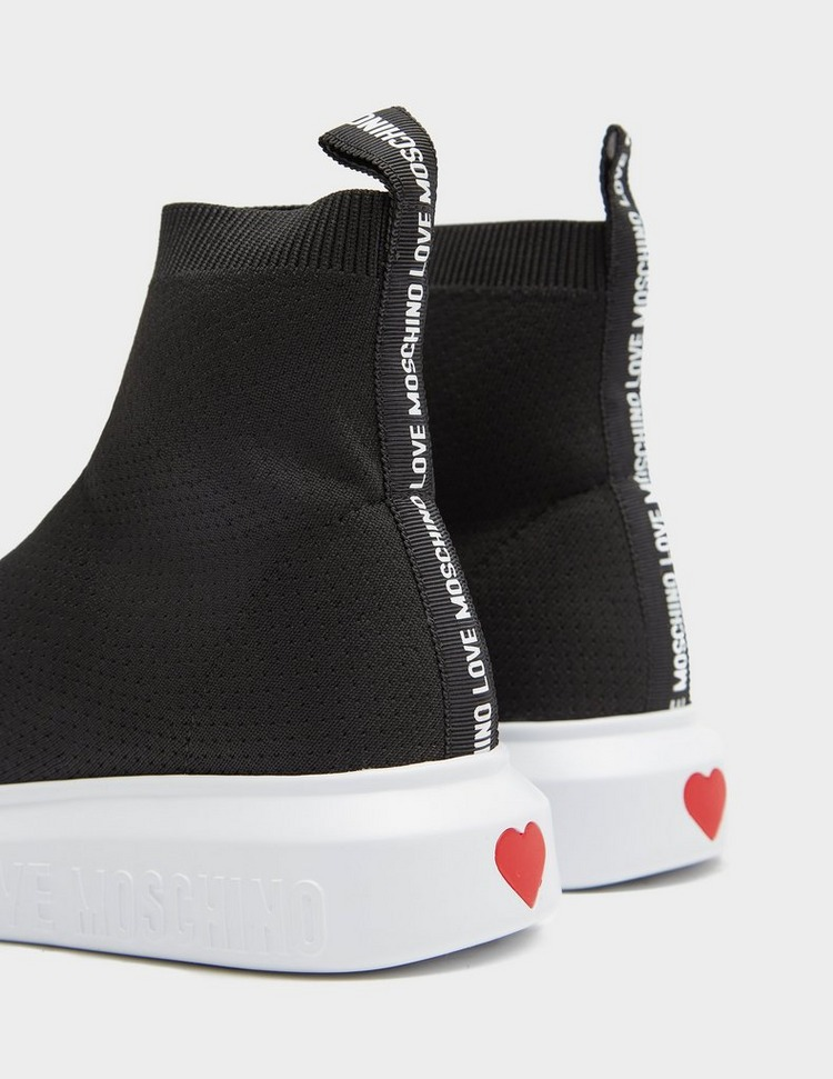 Love Moschino Logo Sock Runner