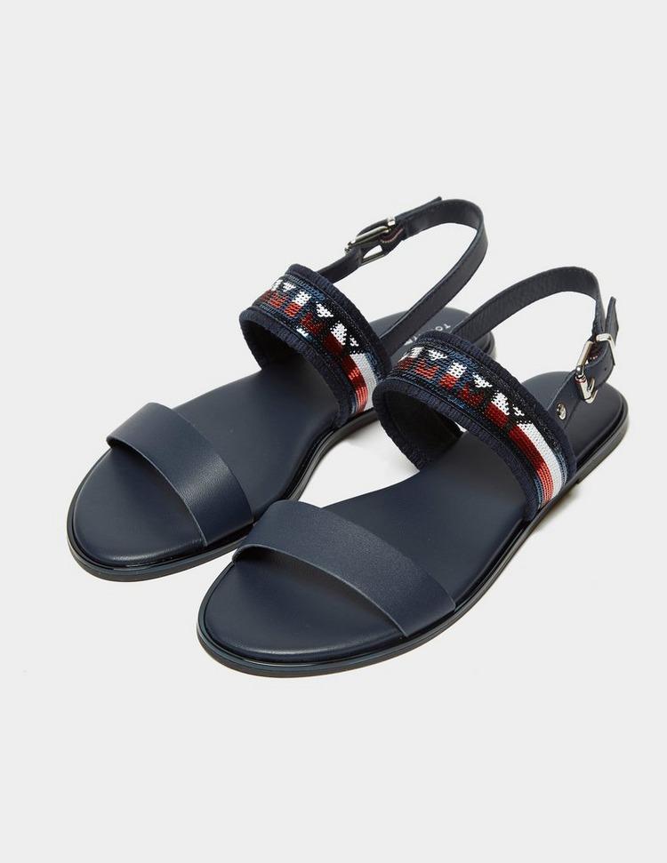 Tommy Hilfiger Sequin Flat Sandal