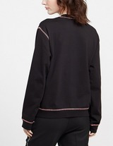 Love Moschino Rainbow Stitch Sweatshirt