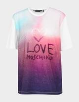 Love Moschino Ombre Multi T-Shirt