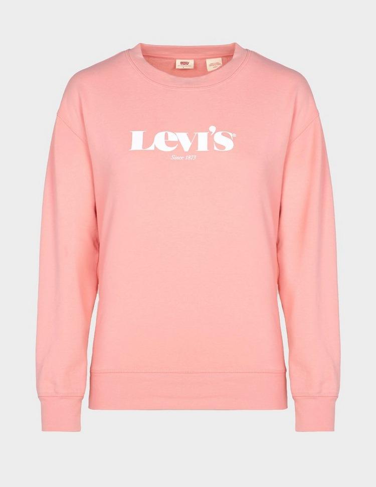 Levis Logo Crew Sweatshirt