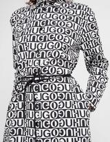 HUGO Logo Shirt Dress