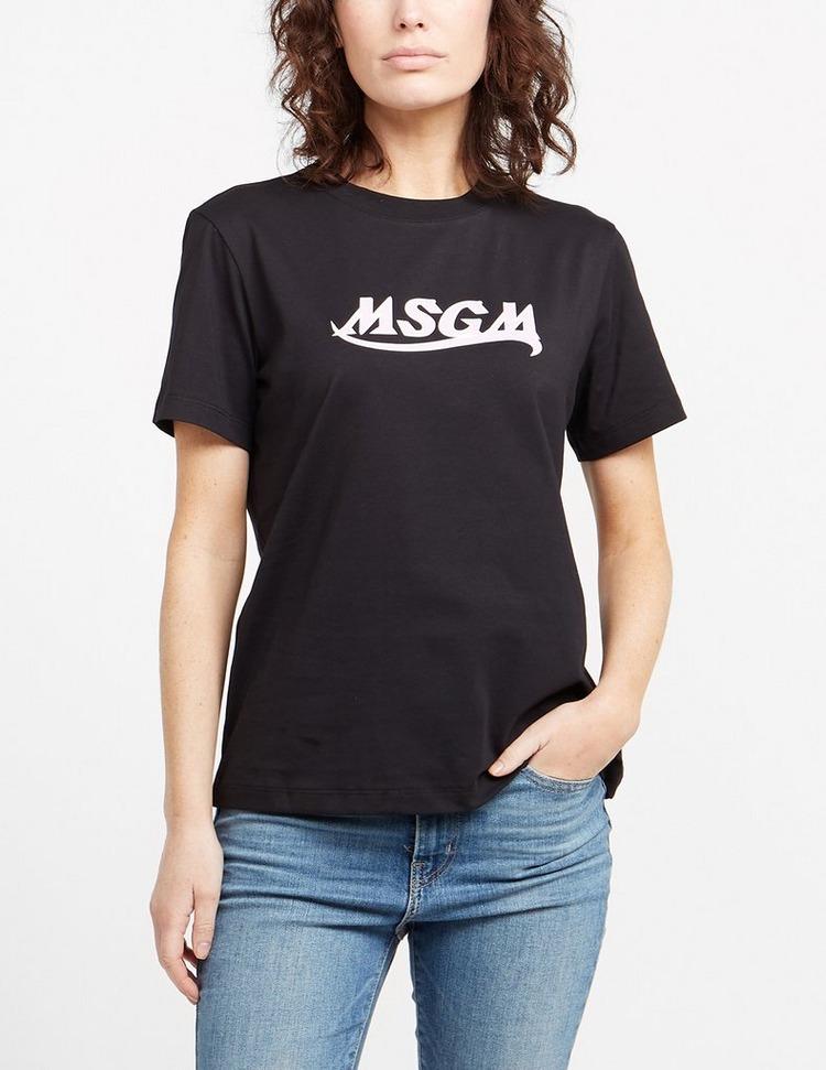 MSGM Signature Logo T-Shirt