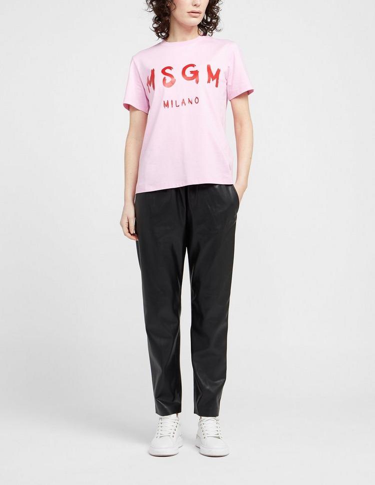 MSGM Puff Sleeve T-Shirt