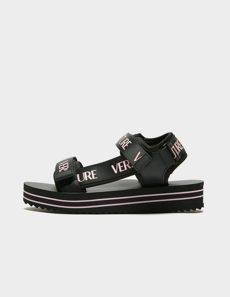 Versace Jeans Couture Logo Strap Sandals