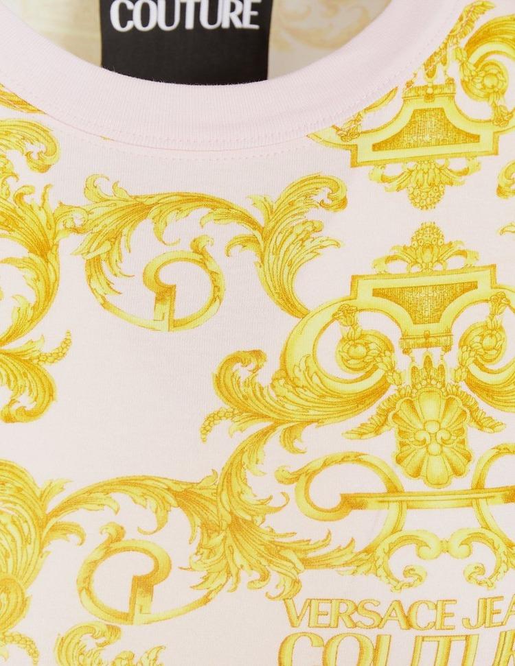 Versace Jeans Couture Baroque Logo T-Shirt