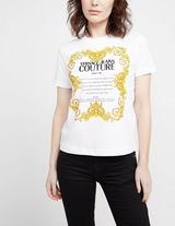 Versace Jeans Couture Script Baroque T-Shirt