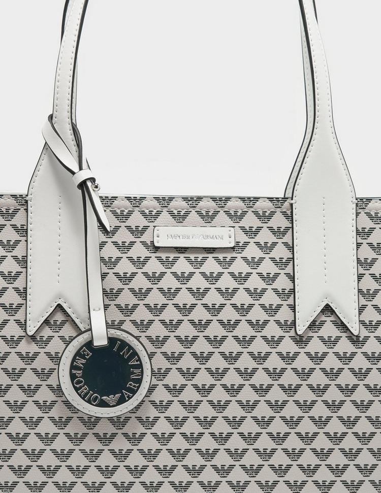 Emporio Armani Frida Eagle Print Shopper Bag