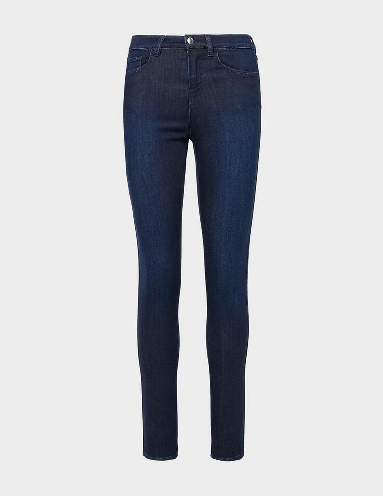Emporio Armani J20 High Waisted Super Skinny Jeans