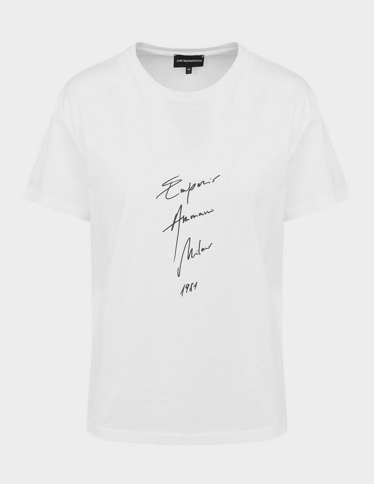 Emporio Armani Signature Logo T-Shirt