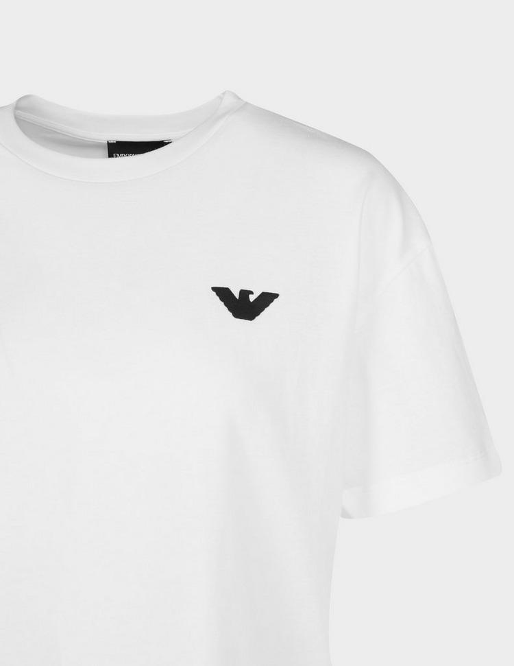 Emporio Armani Small Logo Back Print T-Shirt