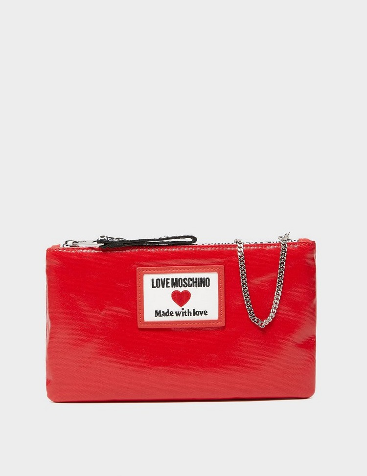 Love Moschino Tab Chain Pouch