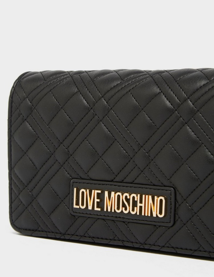 Love Moschino Quilted Box Chain Bag