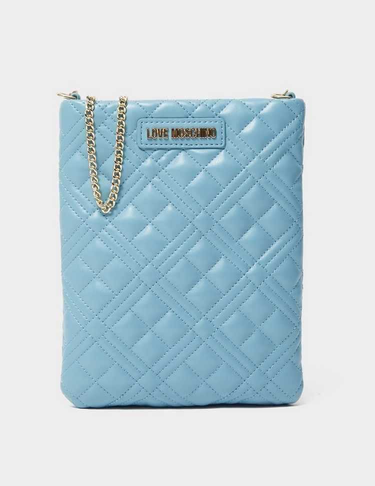 Love Moschino Quilted Small Tech Chain Bag
