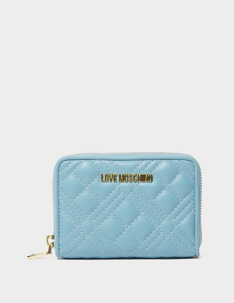 Love Moschino Quilted Small Zip Purse