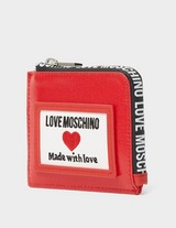Love Moschino Tab Small Zip Purse