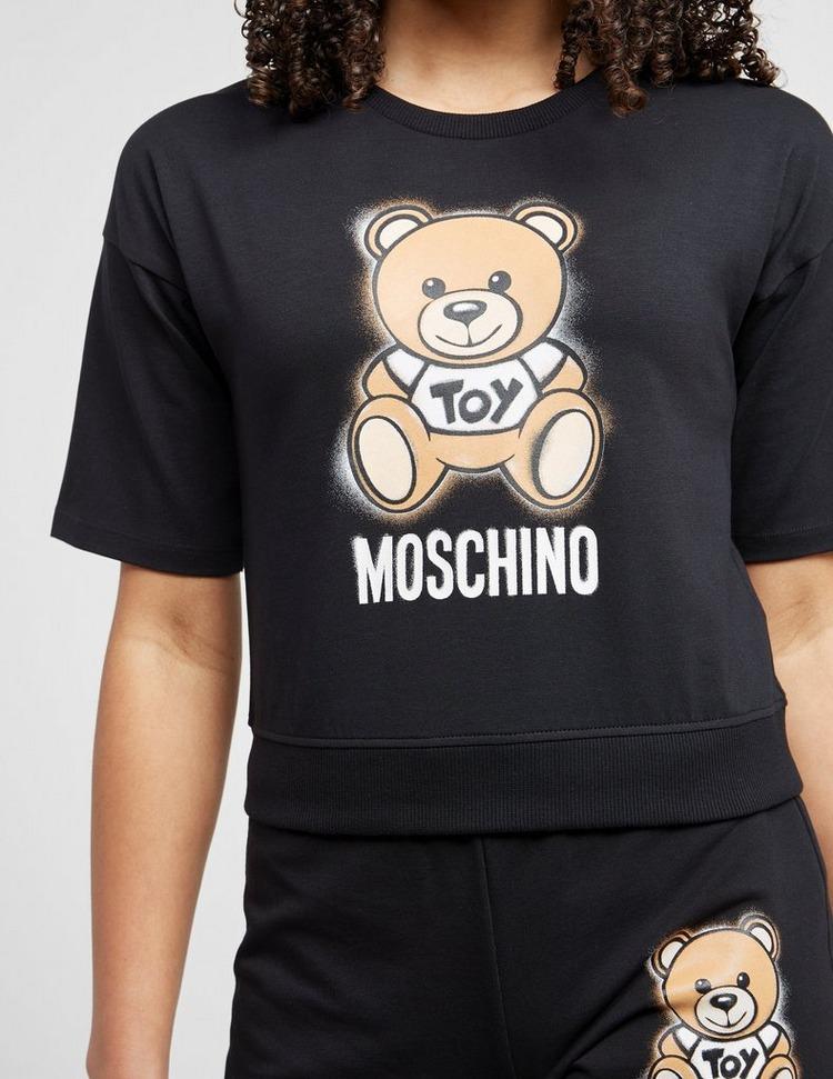 Moschino Bear Cropped T-Shirt