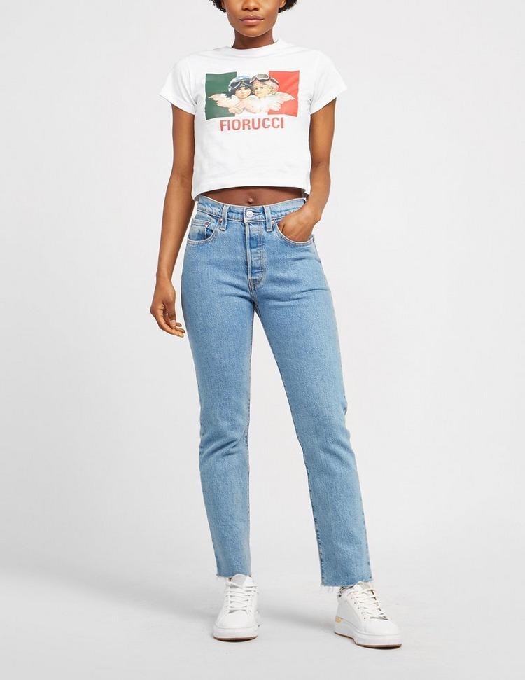Fiorucci Speed Queen Cropped T-Shirt
