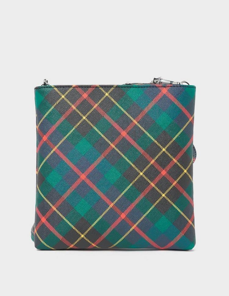 Vivienne Westwood Derby Tartan Square Bag