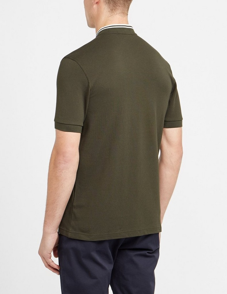 Fred Perry Bomber Collar Pique Polo Shirt