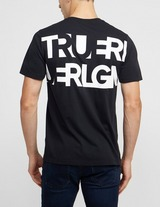True Religion Back Letter Short Sleeve T-Shirt