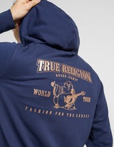 True Religion Metallic Horse Shoe Track Top