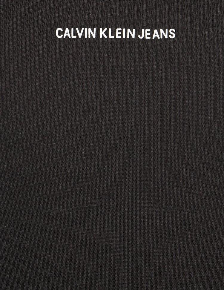 Calvin Klein Jeans Ribbed Bodysuit